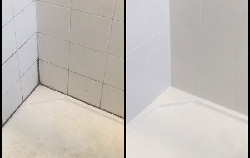 Shower Grout Clean